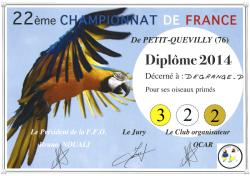 Diplome 2014 patrice